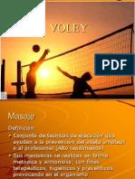 Masaje Deportivo en El Voley