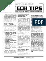 General Motor Relearn Procedures