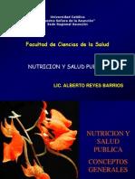 Salud Publica y Nutricion