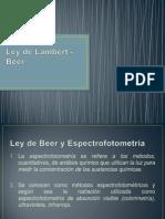Ley de Lambert - Beer