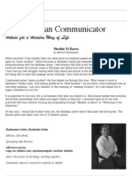 The Seidokan Communicator, October 1997