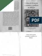 Crítica de la teoría económica y poítica en México