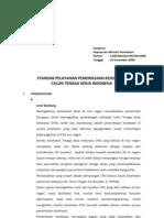 2. Standar Pelayanan Kesehatan CTKI