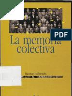 Halbwachs, Maurice La Memoria Colectiva.pdf