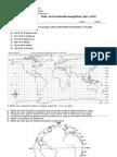 Taller  Coordenadas Geográficas