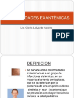 enfermedades exantémicas