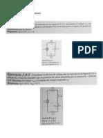 Ejercicios Divisor de Voltaje y Corriente
