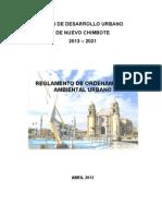 3. Reglamento de Ordenamiento Ambiental