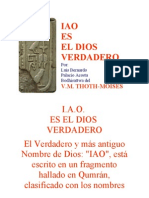IAO (El Nombre Del Dios Verdadero)
