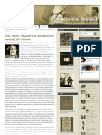 Paul Veyne - Foucault y la superación (o remate) del nihilismo.pdf