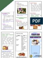 Leaflet Diet Penderita Diabetes