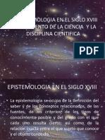 TRABAJO  EPISTEMOLOGIA EN EL SIGLO XVIII.ppt