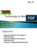 Operations Technology in Manufacturing
