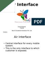 Air Interface