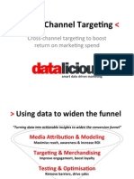 Boosting cross-channel advertising effectiveness through advanced targeting