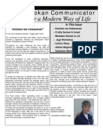 The Seidokan Communicator, January 2009