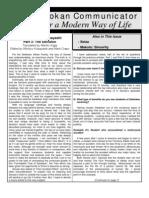 The Seidokan Communicator, April 2004