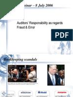 auditor against