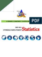 2011 POEA OFW Statistics