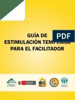 GUIA DE ESTIMULACION TEMPRANA