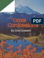 95948709 Great Confessions Don Gossett