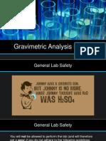 Gravimetric Analysis Prelab