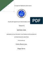 SINTESIS VHDL