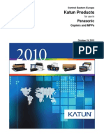 Copier Catalog Panasonic 2010