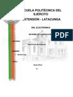 Informe Oscilador Carga Lineal
