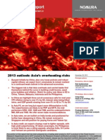 2013 outlook - Asia's overheating risks