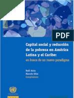 Cepal Capital Social y Reduccion de La Pobreza en Busca de Un Nuevo Paradigma