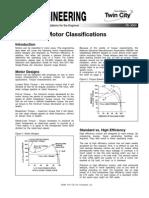 Classification of Motors