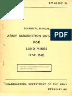 TM 43-0001-36 Land Mines 1977