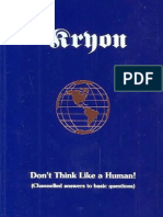 Kryon Book-02 Don't Think Like a Human