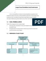 Modul Pengurusan Prasekolah (pra3110)