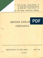 TM 9-1985-1 1952 - British Explosive Ordnance