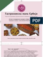 Gastronomska mapa Srbije