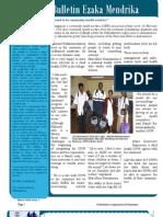 """""""Ezaka Mendrika"""" - Issue 1, March 2010 (SantéNet 2)"""