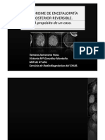 Caso Clinico Encefalopatia