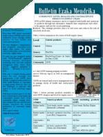 """Ezaka Mendrika"" - Issue 3, September 2010 (SantéNet 2)"