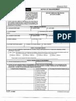 VA Form 21-0958 Notice of Disagreement FEB 2013 4 Pgs