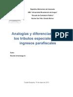 AnalogíasDiferenciasEntreTributosEspeciales-y-Parafiscales