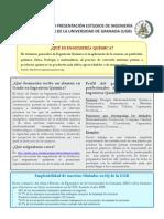 Documento Presentacion Estudios Ingenieria Quimica Ugr