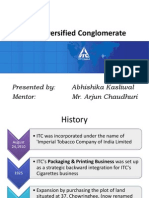 ITC- Diversified Conglomerate