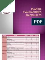 Plan de Evaluaciones Nacionales