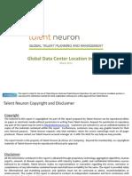 Global Datacenter LocationNorth