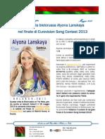 Votiamo Alyona Lanskaya in finale di ESC 2013!