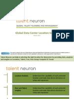 Global Datacenter Locations Talent Neuron