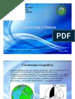 Proyecciones y Datum
