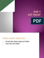 Bab II Zat Padat